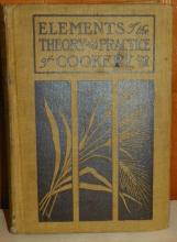 1913 Elements of the Theory and Practice of Cookery by Mary Williams