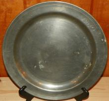 Pewter Charger by Colonial