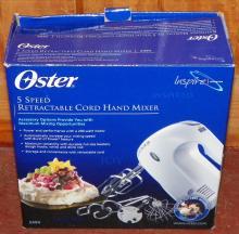 Oyster 5 Speed Hand Mixer