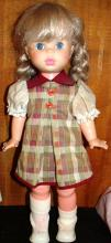 Egee Co. Plastic Jointed Doll