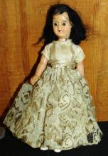 Composition Jointed Souvenir Doll