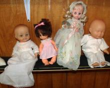 Collection of 4 Dolls