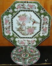 Collection of 2 Oriental Plates