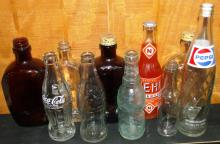 Collection of 10 Assorted Bottles