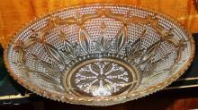 EAPG Gold Rimmed Bowl