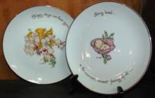 Collection of 2 Kewpie Collector Plates