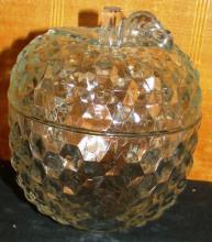 Crystal Wexford Apple Covered Jar