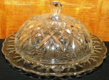 Crystal Dome Butter Dish