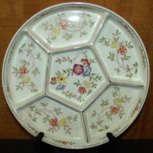 Handpainted Japan Divided China Platter