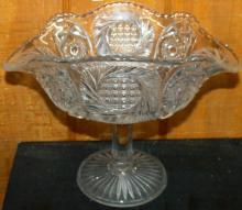 EAPG Crystal Compote