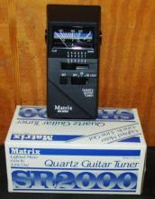 Matrix Quartz Guitar Tuner SR200