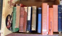 Box Lot Various Hard Back Books