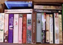 Box Lot Various Paper Back Books