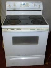 Whirlpool Self Cleaning Smooth Top Oven