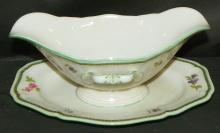 Rosenthal Gravy Boat w/ Under plate - Chippendale