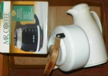 Box Lot - Mr. Coffee, Kettle, Thermos