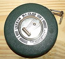 Vintage Lufkin Ni-clad Steel Tape Measure