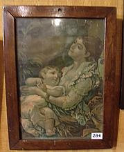 Framed Print Mother with Child