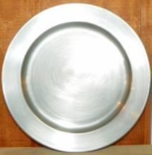 Colonial Pewter Plate