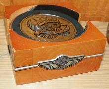 Harley Davison Coaster Set