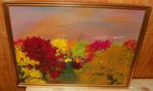 Framed Acrylic on Board -