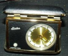 Linden Lighted Dial Travel Clock