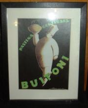 Framed Print - Buitoni Advertising
