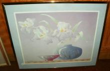 Framed Orchid Print