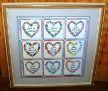 Framed Print Love is Kind