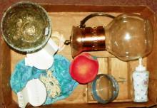 Box Lot - Carafe, Porcelain & Etc.