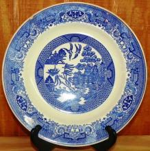 Royal Ironstone Willoware Plate