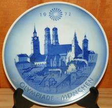 1972 Olympiad Monchen Souvenir Plate