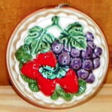 Decorative Porcelain Fruit Chocolate Mold