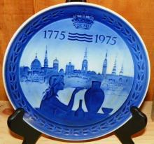 1775-1975 Bicentennial Collector Plate Royal Copenhagen