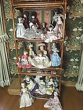 24 Porcelain Dolls