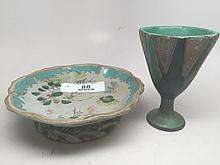 Vintage Hand Painted Asian Pieces