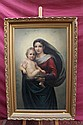 Nineteenth century Italian School oil on board in