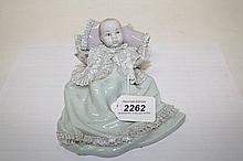 Lladro porcelain figures - Christening, in