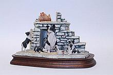 Border Fine Arts sculpture - Jocks Pride, signed -