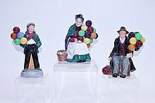Three Royal Doulton figures - The Balloon Man