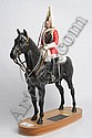 Beswick figure of a life guard trooper on