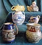 Royal Doulton jug decorated with scenes after Geo. Morland, 7in high  1