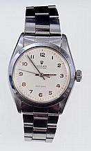1960s gentlemen's Rolex Oyster Precision stainless