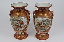 Pair of good quality late 19th century Japanese Ar