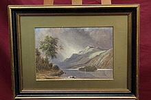 Thomas Harper, late Victorian watercolour - The Ga