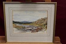 Claude Hulke, late Victorian watercolour - Near To