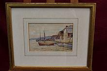 Alfred MacDonald, late Victorian watercolour - Low