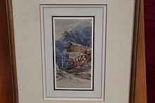 William Evans of Eton (1798 - 1877), watercolour -