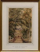 Peter De Wint (1794 - 1849), watercolour - West Mo