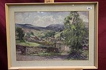 George Robert Rushton (1869 - 1947), watercolour -